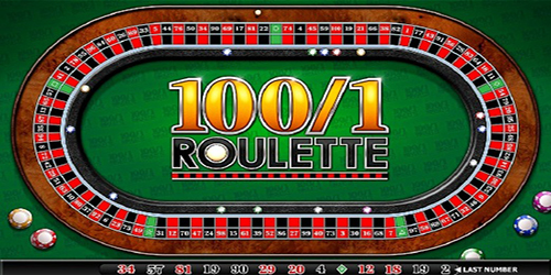100/1 roulette game