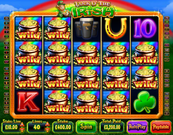 Irish luck slot machine free play dell laptop memory card slot not working