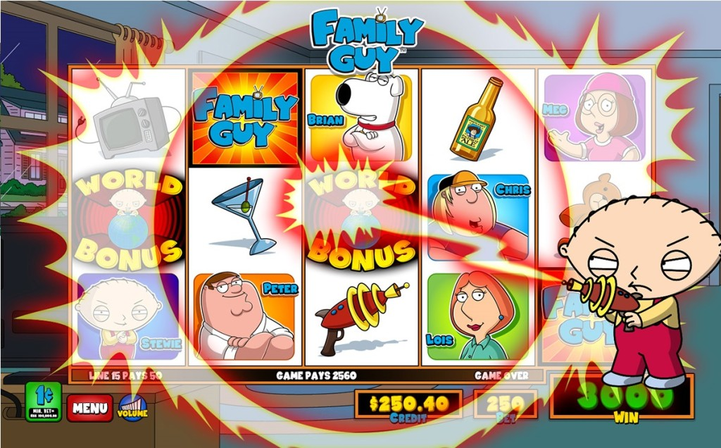 Family Guy Slot Machine For Sale