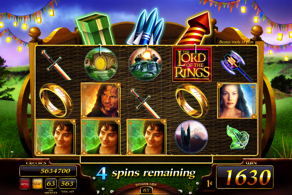 The Lord of the Rings™ Slot Machine Game to Play Free in WMS Gamings Online Casinos