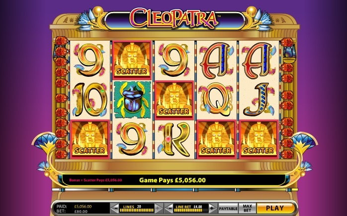 cleopatra slot machine download free