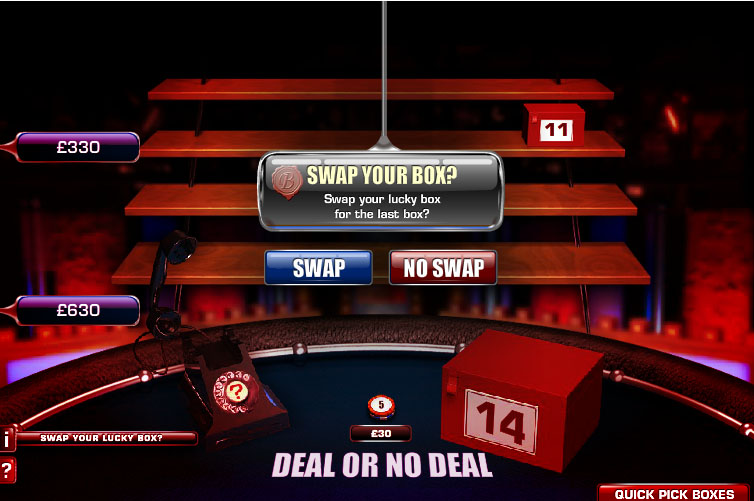Deal or No Deal Roulette – Online Roulette Games
