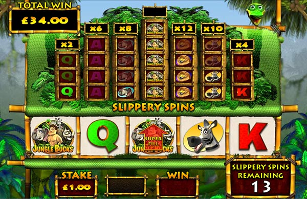 Jungle Bucks Slot Machine - Play OpenBet Casino Games Online