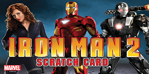 Ironman 2 Scartch Card