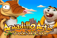 Armadillo Artie Dash for Cash Slot